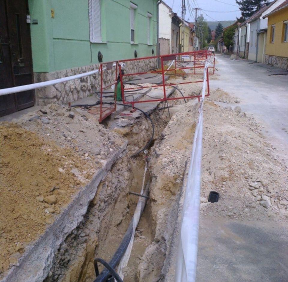 Vízvezeték rekonstrukció II. ütem 2014-